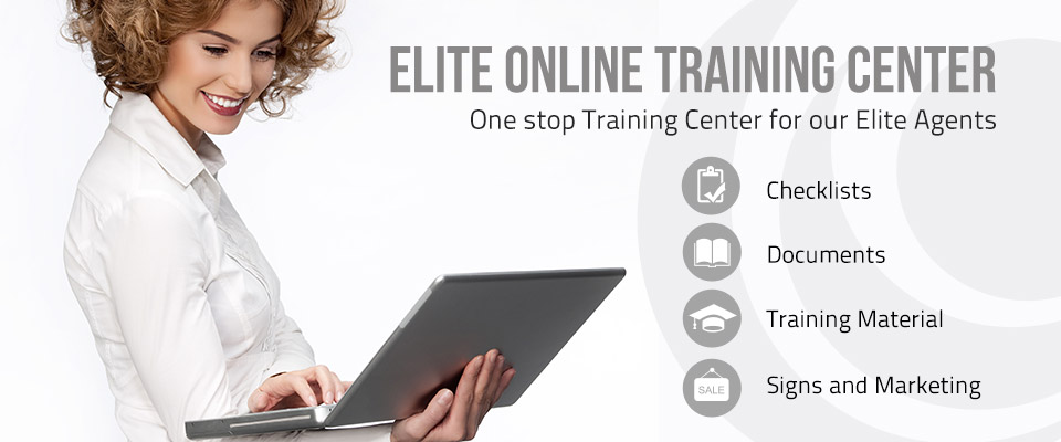 Elite Online Training Center for our Elite Agents